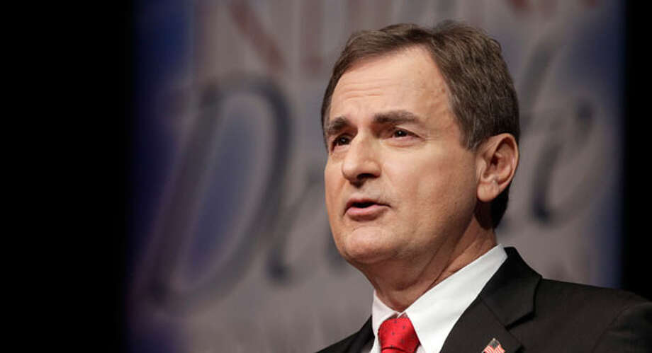 Richard Mourdock, Indiana Senate candidate whose election derailed over comments about rape. Photo: Michael Conroy