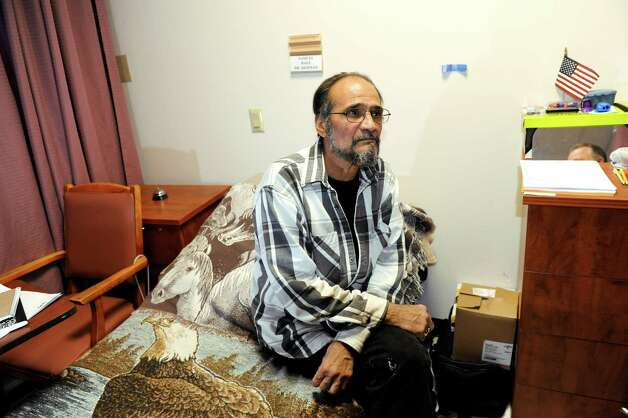 Samuel Baez, also known as Poppy, in his room on Friday, Dec. 21, 2012, at Capstone Center for Rehabilitation and Nursing in Amsterdam, N.Y. (Cindy Schultz / Times Union) Photo: Cindy Schultz / 00020537A