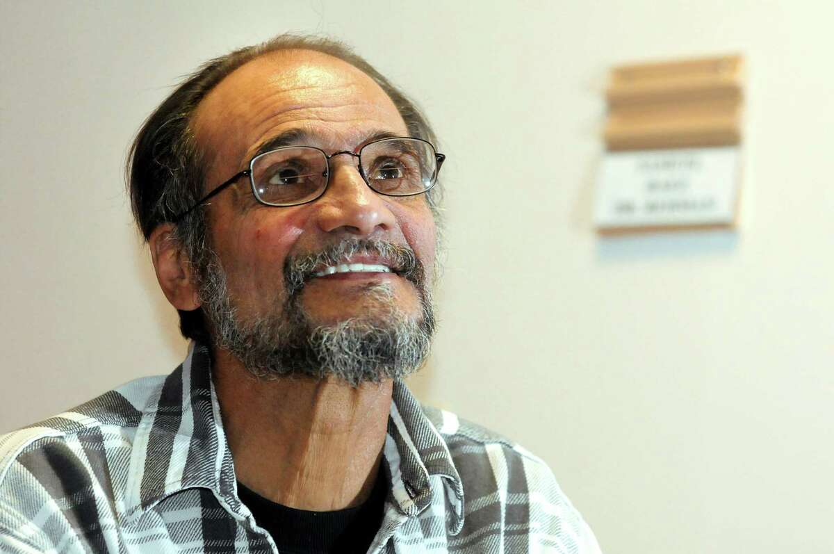 Samuel Baez, also known as Poppy, in his room on Friday, Dec. 21, 2012, at Capstone Center for Rehabilitation and Nursing in Amsterdam, N.Y. (Cindy Schultz / Times Union)