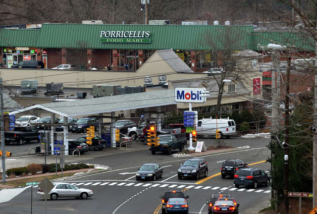 Porricelli's Food Mart was open for the last time today in Trumbull, Conn. on Saturday December 29, 2012. Photo: Christian Abraham / Connecticut Post