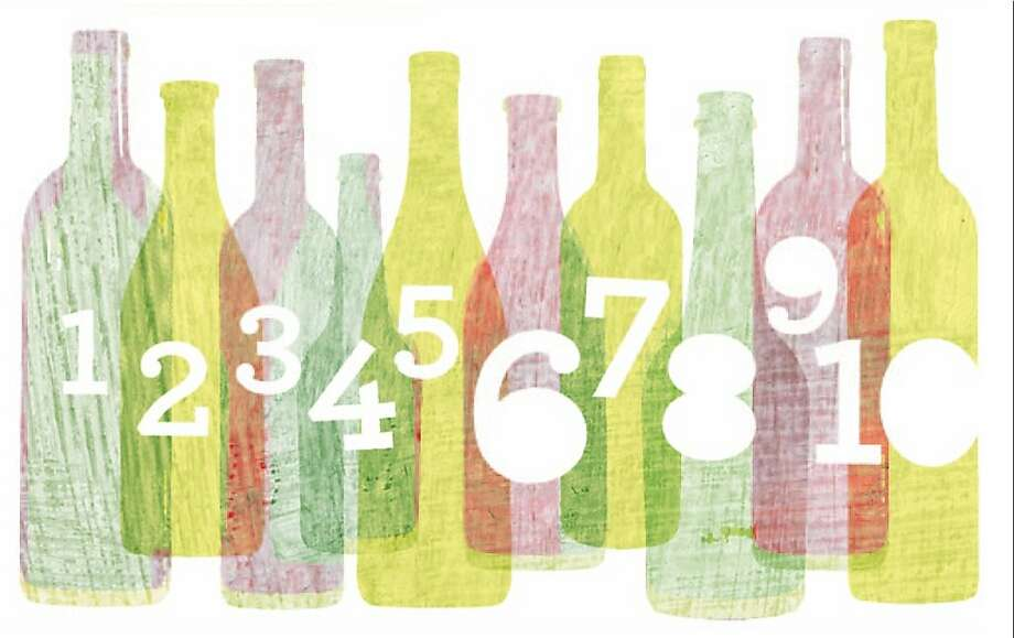 The 10 most memorable wines of 2012 each made in an impression in different ways.