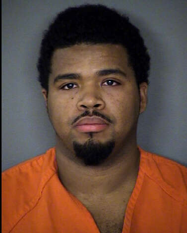 Charleston Williams, 25, blames injuries on accidental falls. Photo: Bexar County Sheriff's Office