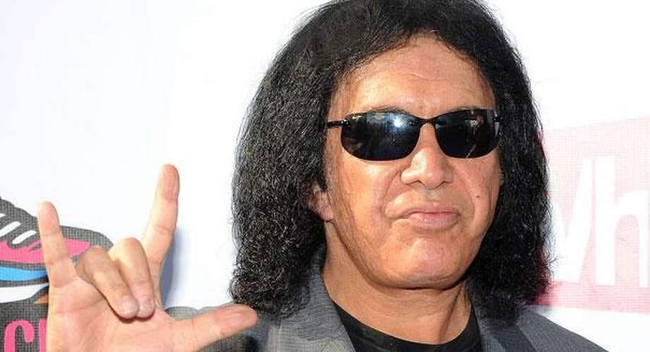 Gene Simmons -- suggested by whonew. Photo: Kristian Dowling / AP2011
