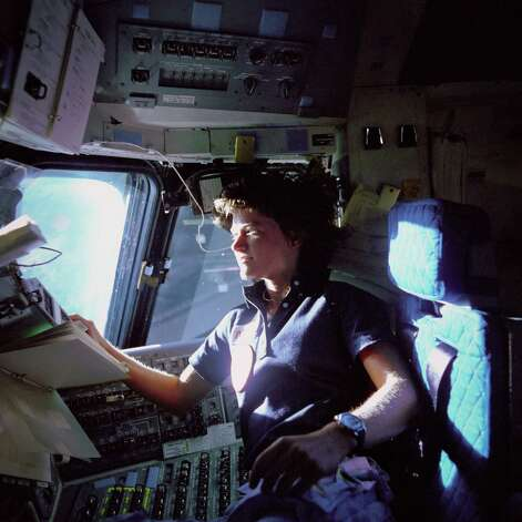 Sally Ride, the first American woman in space, later championed math and science education. Photo: NASA / NASA