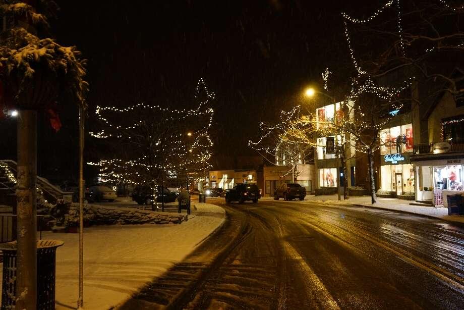Westport Winter Wonderland 12/29/2012 Photo: Todd Tracy