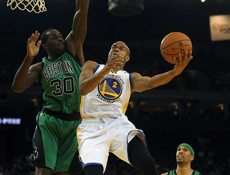 Backup point guard Jarrett Jack (right), driving against Brandon Bass in Saturday's romp over the Ce