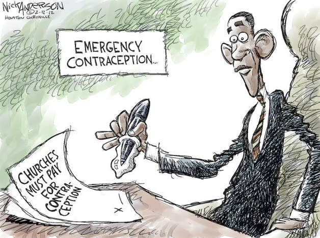A little protection (Nick Anderson / Houston Chronicle)