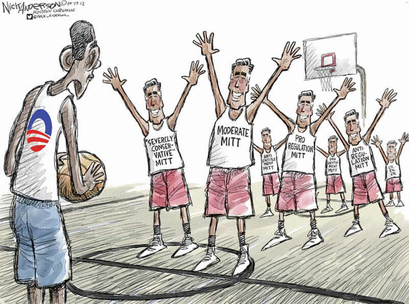 The many Mitts (Nick Anderson / Houston Chronicle)