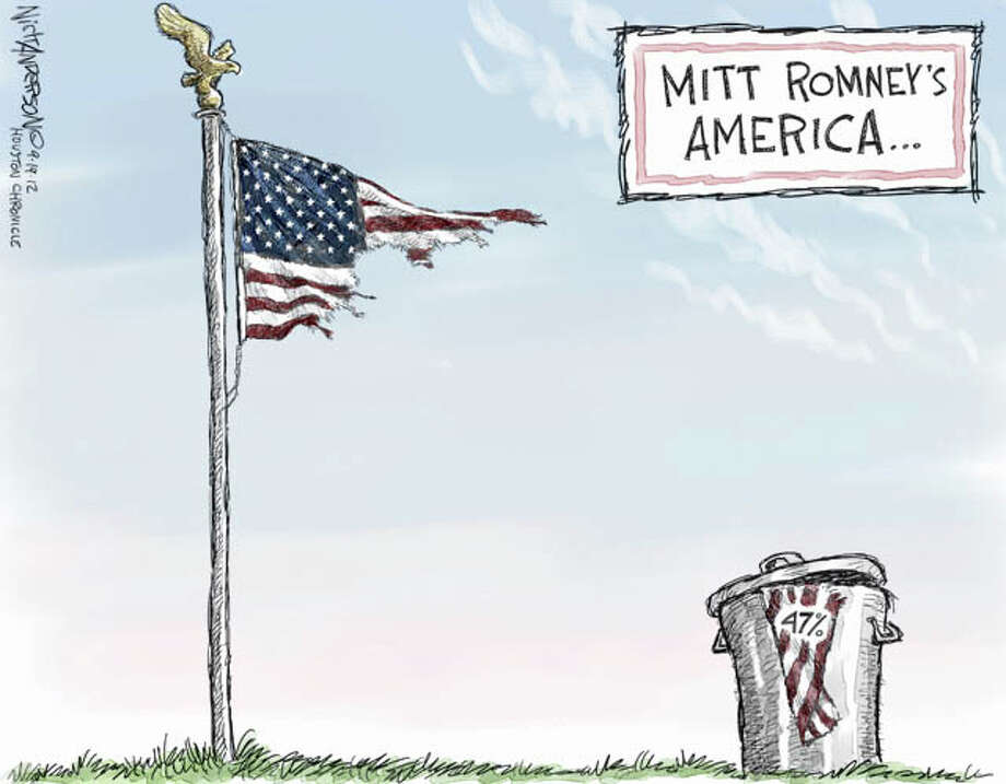 Romney's America (Nick Anderson / Houston Chronicle)