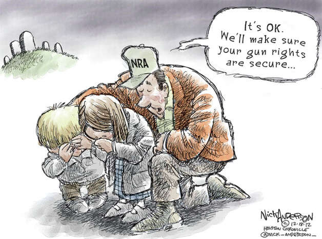 Second Amendment (Nick Anderson / Houston Chronicle)