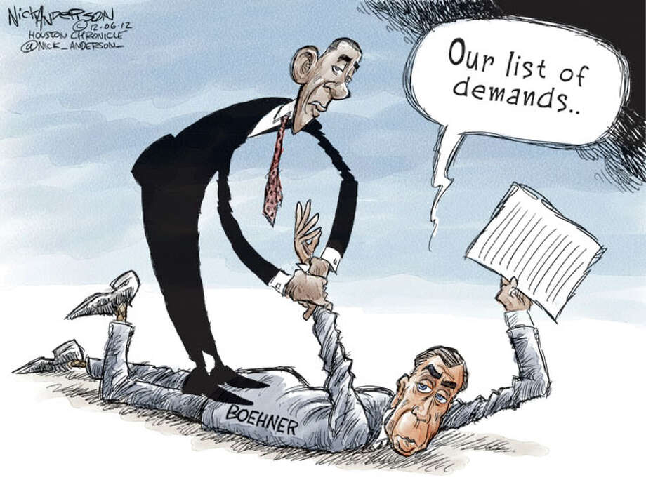 List of demands (Nick Anderson / Houston Chronicle)