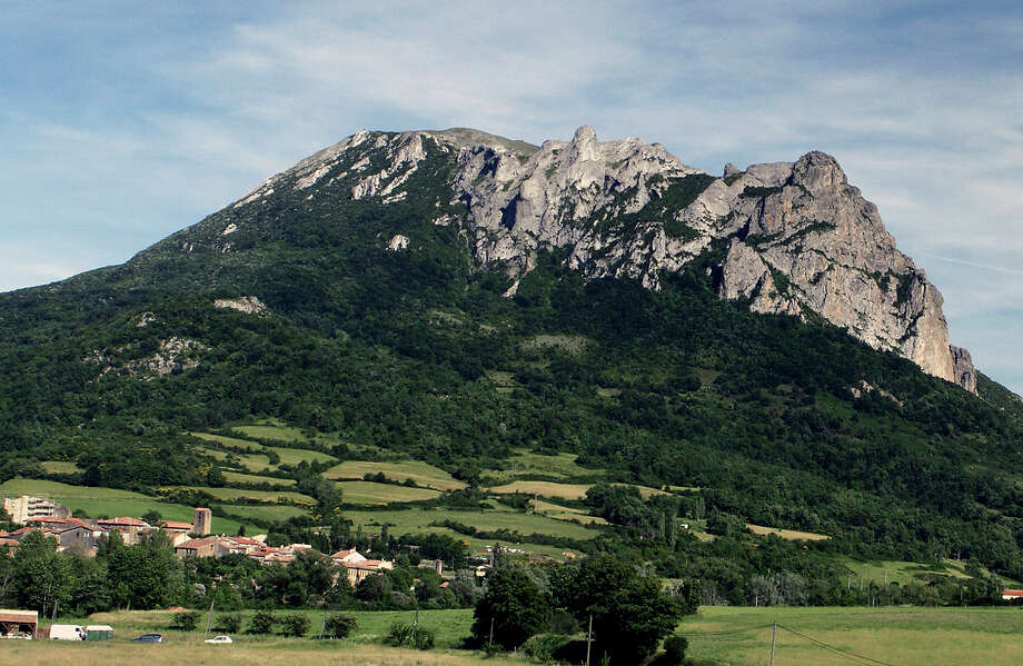 This week, French authorities are blocking access to much of Bugarach mountain in the French Pyrenees, where doomsayers are flocking in their belief that a buried spaceship there will spirit them away when disaster strikes. Some there fear a suicide cult is in the making. Photo: AP