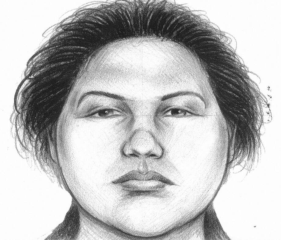In this image provided by the New York City Police Department, a composite sketch showing the woman believed to have pushed a man to his death in front of a subway train on Thursday is shown. Police arrested Erika Menendez on Saturday after a passer-by on a street noticed she resembled the woman seen in a surveillance video. The attack was the second time this month that a man was pushed to his death in a city subway station. Photo: AP