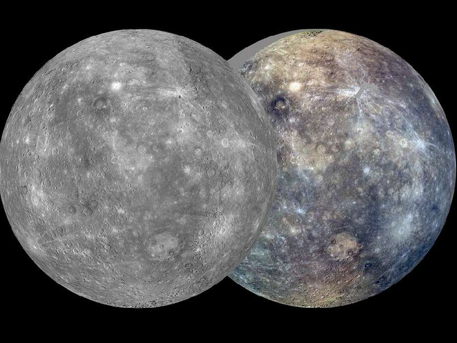 6 - NASA finds ice on a planet --  and it's not Mars!  Mercury, NASA reports, has lots of ice and pockets of an unknown organic material. And that, space rangers, could mean the planet closest to the sun has the building blocks of life. It turns out the deep craters shade anything inside from the sun's rays, keeping the temperature cool enough to allow ice to form. It's even possible that liquid water exists on the planet somewhere under the ice!