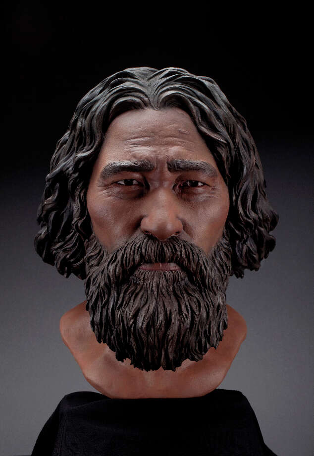 10 - The hotly debated  Kennewick Man (otherwise known as the 9,500-year-old remains found in the shallows of the Columbia River more than 16 years ago) was buff, said Doug Owsley, head of physical anthropology at the Smithsonian's National Museum of Natural History. After years of careful examination, scientists released some of their findings to Native American tribes at meetings in central Washington. First, and important to the battles over the bones, it turns out Kennewick Man grew up on the coast and was not a direct ancestor to inland tribes. The image above is the final Kennewick Man facial reconstruction. Photo: Brittney Tatchell