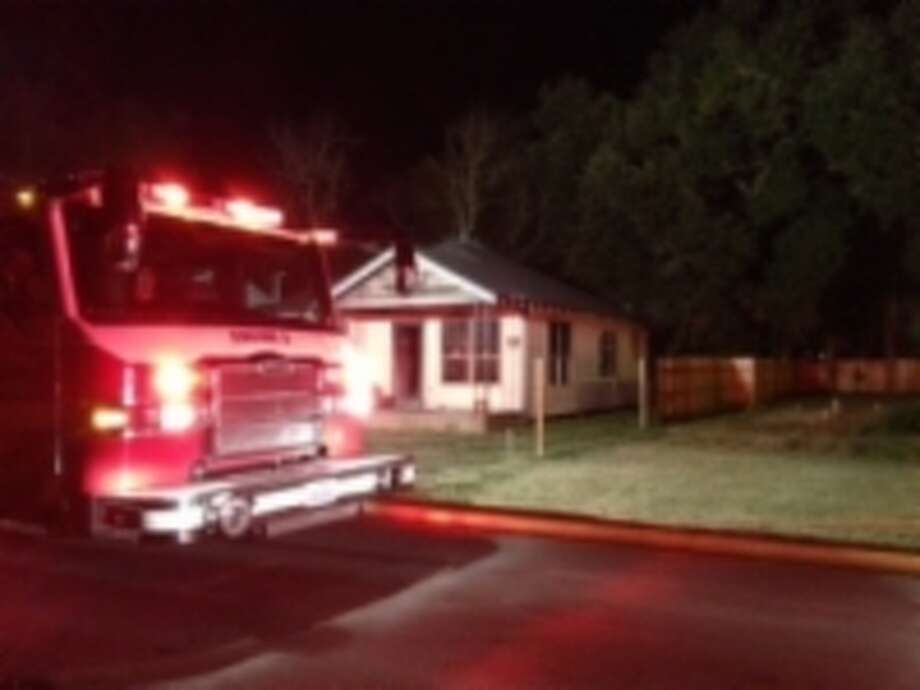 A fire that damaged a vacant house on Hartel Street appeared to be deliberately set, Beaumont Fire Department investigators said. Photo: Courtesy Photo