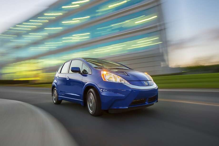 The Honda EV Fit. Photo: Honda