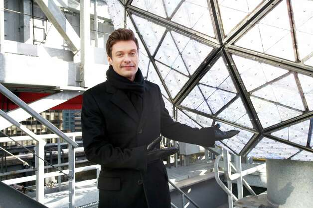 Ryan Seacrest, producer and host of Dick Clark's New Year's Rockin' Eve on ABC, poses for a portrait Friday, Dec. 28, 2012 in New York. As New Year's Eve nears, Seacrest is focused on getting ready for the show, which, with related programming, will blanket ABC from 8 p.m. until past 2 a.m. EST. (Photo by Dan Hallman/Invision/AP Images) Photo: Dan Hallman