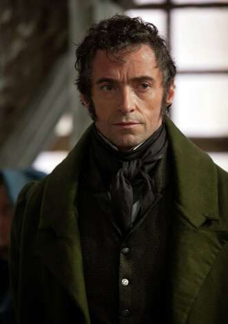 Best actor nominee: Hugh Jackman in 'Les Miserables' Photo: Laurie Sparham