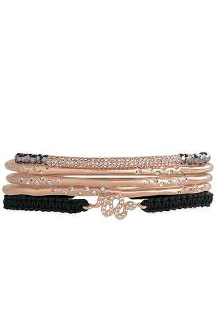 "The Rhea bracelet is part of Stella & Dot's spring line.  ""Our new delicate layering styles for Spring (Valor, Maya, Avalon) or our signature link styles (Odette) offer a timeless sculpted look."" (All starting at $39, available January 11) Photo: Stella & Dot"