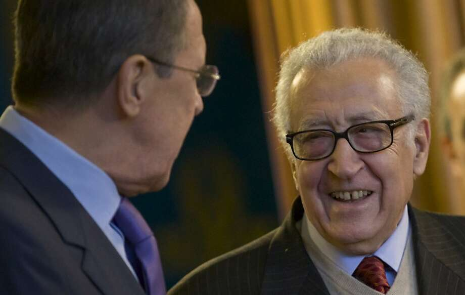 U.N. envoy Lakhdar Brahimi has made little progress in his efforts to push forward a peace plan in Syria. Photo: Ivan Sekretarev, Associated Press