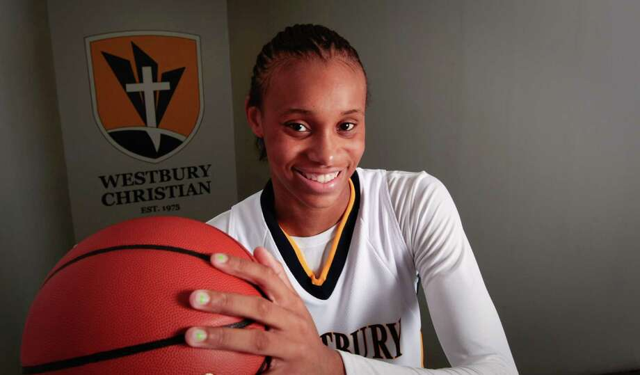 Westbury Christian freshman Brianna Turner is a freshman, Wednesday, October 27, 2010. Although the 14-year old Turner has never played in a high school basketball game before, she is the most hyped girls basketball player of 2010. At 6-4, Turner is one of the most talked about players in the country and is already getting Division I looks from schools like Duke, Stanford, Tennessee, Texas. (Billy Smith II/ Houston Chronicle) Photo: Billy Smith II, HC Staff / Houston Chronicle
