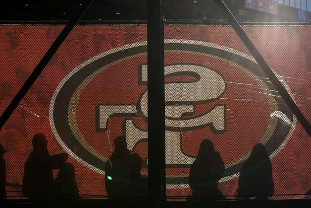 Fans head to their seats before the San Francisco 49ers game against the Arizona Cardinals at Candlestick Park in San Francisco, Calif., on Sunday December 30, 2012. Photo: Carlos Avila Gonzalez, The Chronicle