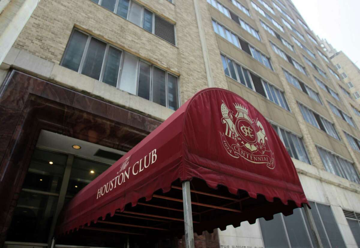 Sweedish firm Skanska is under contract to purchase the Houston Club Building at 811 Rusk Monday, June 20, 2011, in Houston. ( Cody Duty / Houston Chronicle )
