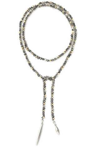 "The Zoe lariat is part of Stella & Dot's spring line. ""Our new delicate layering styles for Spring (Valor, Maya, Avalon) or our signature link styles (Odette) offer a timeless sculpted look."" (All starting at $39, available January 11) Photo: Stella & Dot"