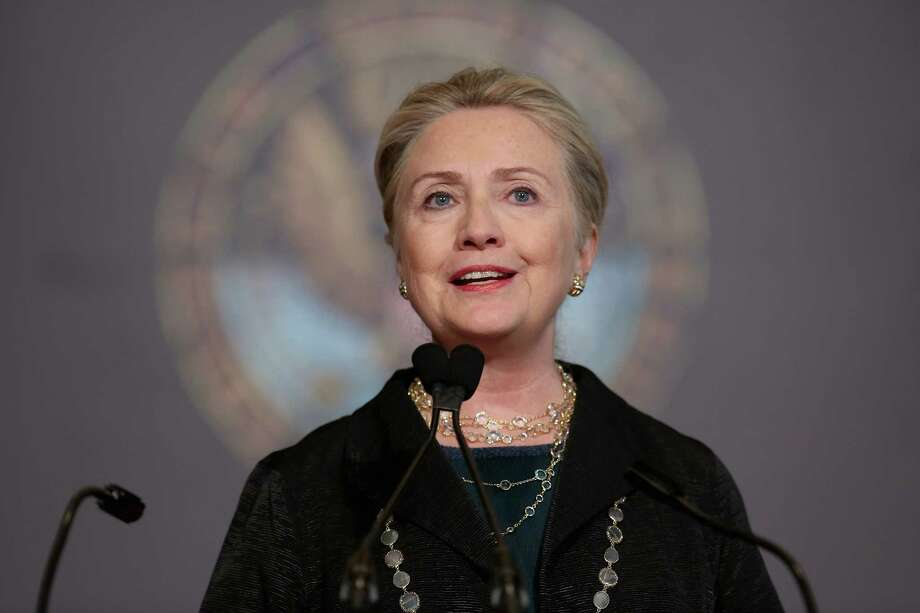 Secretary of State Hillary Clinton was admitted to the New York-Presbyterian Hospital on Sunday after a blood clot was discovered following her concussion. Photo: Chip Somodevilla, Staff / 2012 Getty Images