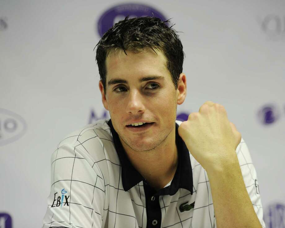 KEY BISCAYNE, FL - DECEMBER 01: John Isner participates in the inaugural Miami Tennis Cup at Crandon Park Tennis Center on December 1, 2012 in Key Biscayne, Florida. (Photo by Larry Marano/Getty Images for the Miami Tennis Cup) Photo: Larry Marano, Stringer / 2012 Getty Images