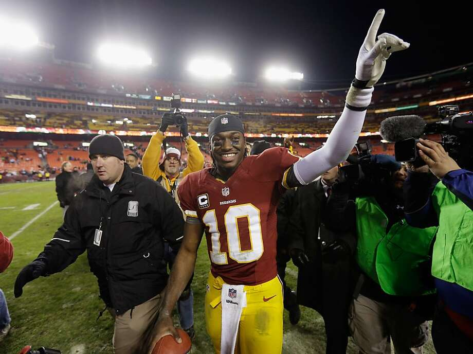 All it took was one season from rookie quarterback Robert Griffin III to lead the Washington Redskins to their first division championship in 13 seasons. Photo: Rob Carr, Getty Images