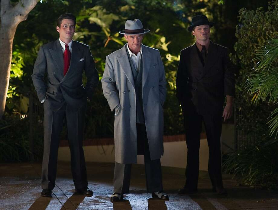 """James Carpinello, Sean Penn and Evan Jones star in """"Gangster Squad,"""" opening Friday in the Bay Area. Photo: Wilson Webb, Warner Bros."""