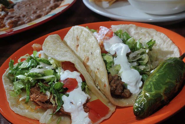 Beef and pork Piratas at Pancho's Taqueria.  150 MLK Parkway in Beaumont.  Photo taken Thursday, August 16, 2012 Guiseppe Barranco/The Enterprise Photo: Guiseppe Barranco, STAFF PHOTOGRAPHER / The Beaumont Enterprise