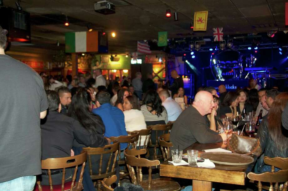 The house is packed tonight at Sherlock's Pub & Grill.