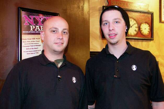 Matthew Blalock and Drake Houston are employess at Sherlock's Bar & Grill.