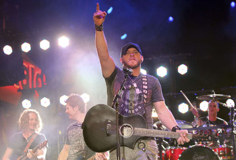 Brantley Gilbert, Thursday, Feb. 21 at 7 p.m. Photo: AP, File Photo / AP2012