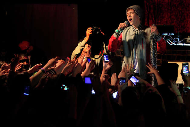 Austin Mahone, Sunday, Feb 10 at 1:00 PM (Johnny Hanson / Houston Chronicle ) Photo: Johnny Hanson, File Photo / © 2011 Houston Chronicle