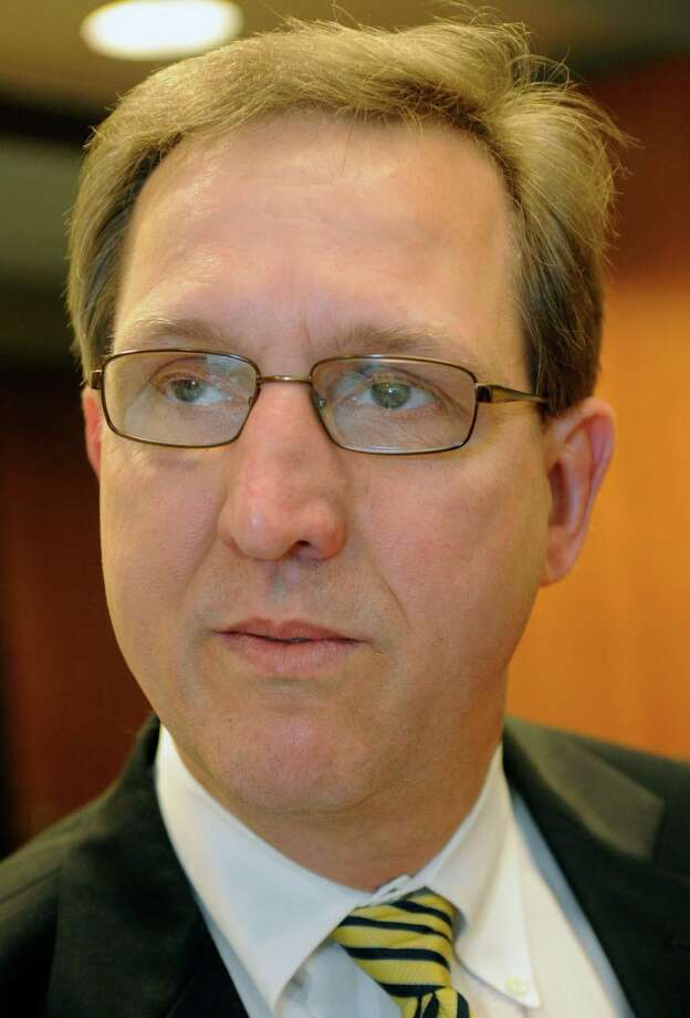 Jeff Branick, County Judge for Jefferson County, listens to comments.  Dave Ryan/The Enterprise Photo: Dave Ryan