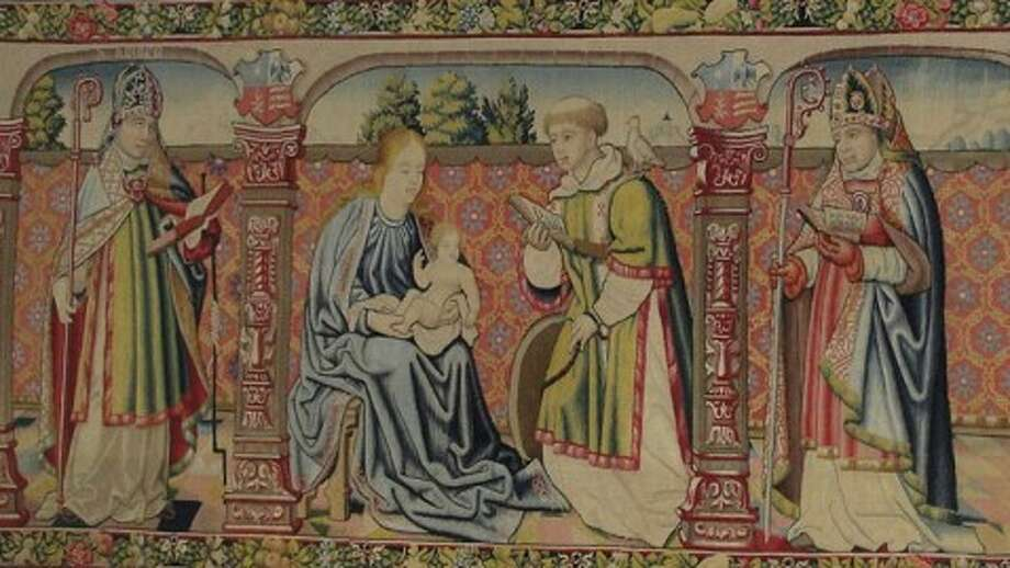 This 16th century tapestry was stolen in December 1979 from the cathedral in Roda de Isábena, Spain. It recently was discovered in Houston. Photo: Courtesy ICE.gov