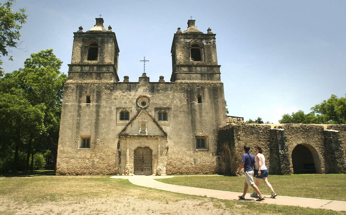 Mission Concepcion, a San Antonio Mission.