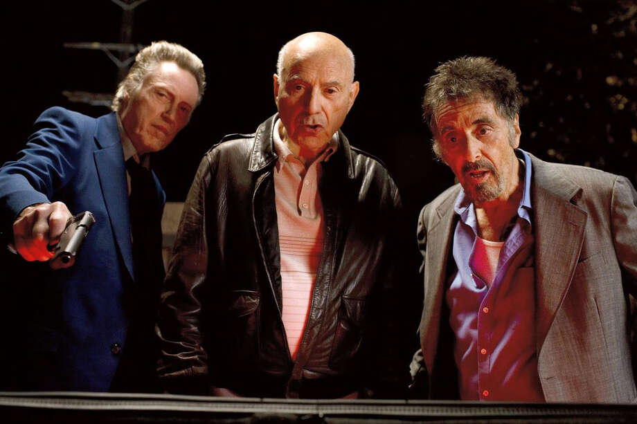 STAND UP GUYS From left, Christopher Walken, Al Pacino, Alan Arkin Photo: LIONSGATE