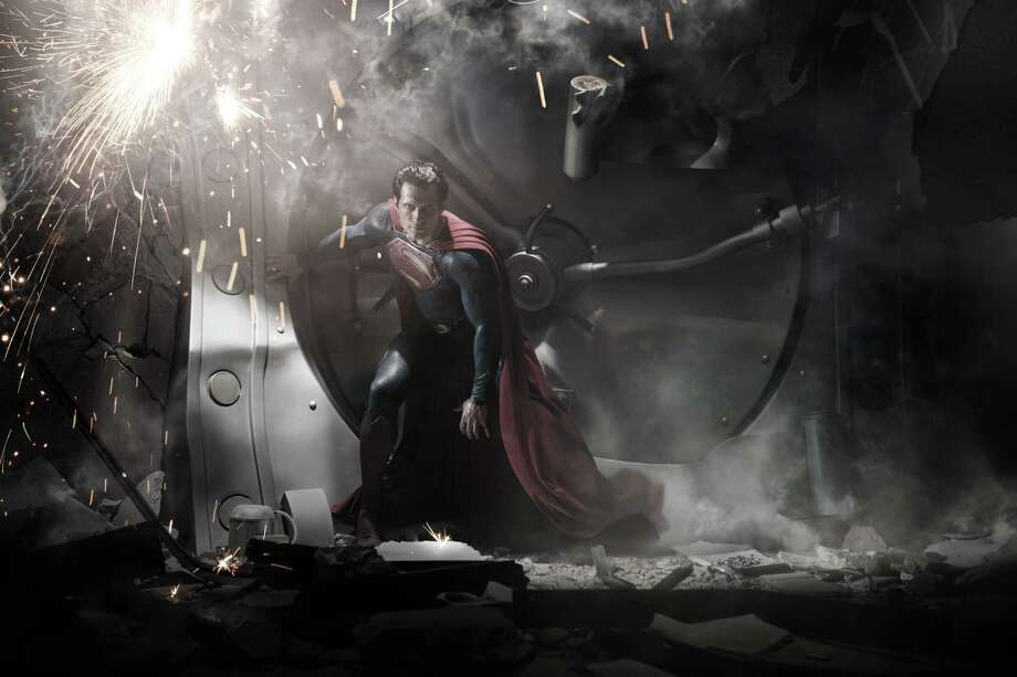 "Henry Cavill  stars as Superman in ""Man of Steel."" Photo: Courtesy, Warner Bros."