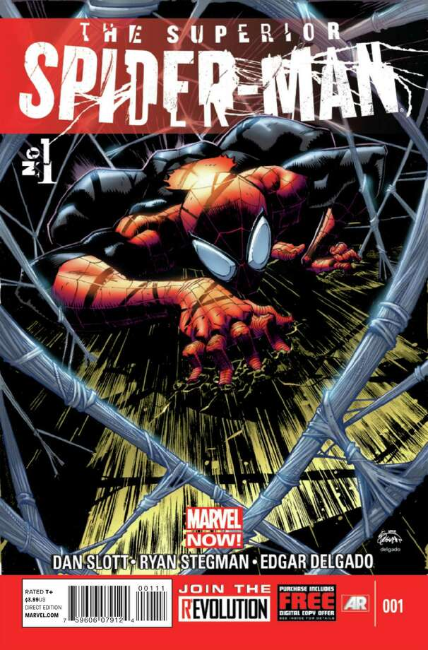 """The Superior Spider-Man"" No. 1 is the first of a new comic series that takes Spider-Man in a bold new direction. Photo: Courtesy"