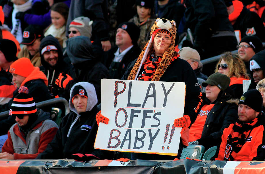 This is new for the Bengals, just as it is for the Texans: It's the first time in 30 years Cincinnati has made back-to-back playoff appearances. More telling, it's the first time it has done it in non-strike-shortened years. Photo: Tom Uhlman