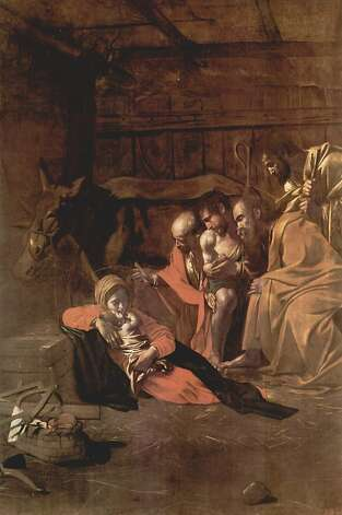 """Adoration of the Shepherds"" by Caravaggio. Photo: Fine Arts Museums Of San Francis"