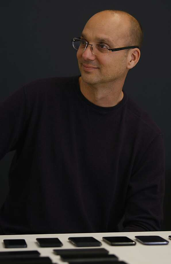 Andy Rubin is Google's senior vice president in charge of Android. Photo: Liz Hafalia, The Chronicle