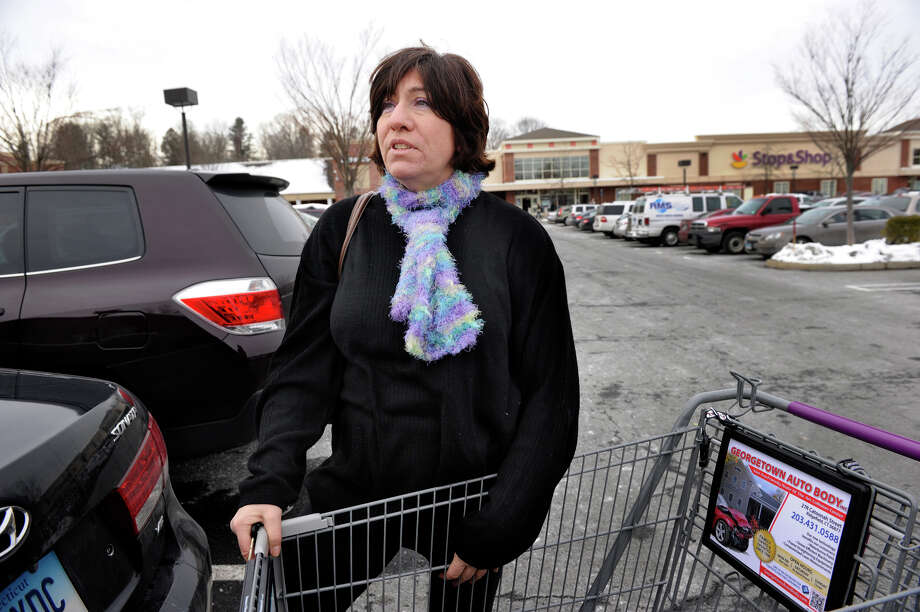 Lori Soyak of Ridgefield, gives her thoughts about 2012 and the new year to come, Dec. 31, 2012. Photo: Carol Kaliff / The News-Times