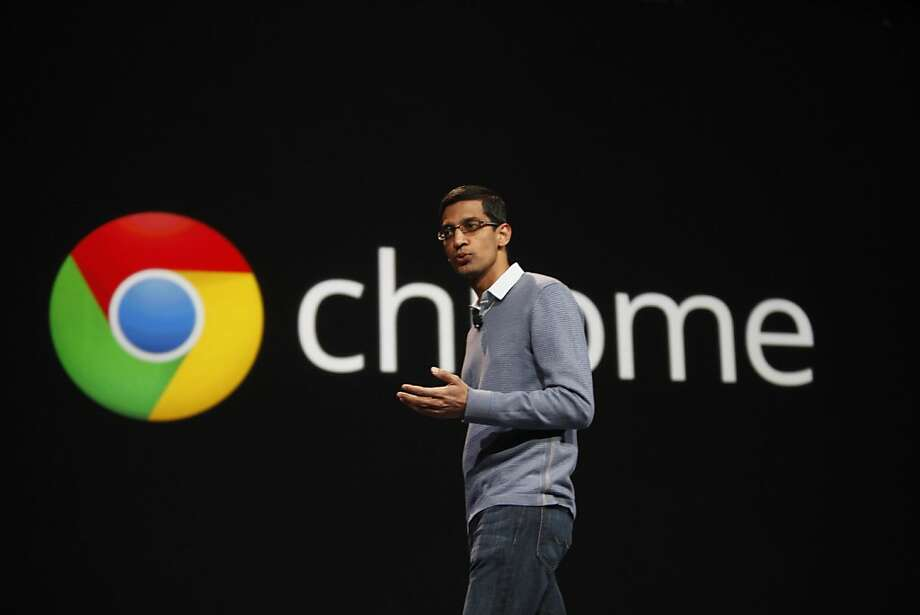 Sundar Pichai, a Google senior vice president, at last year's conference. Photo: Lea Suzuki, The Chronicle