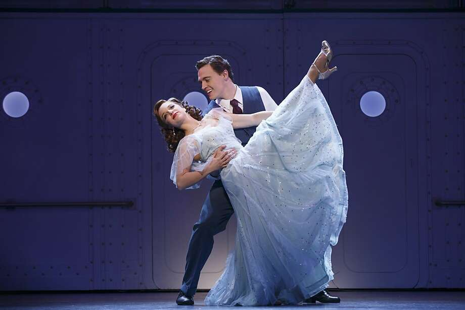 "Alex Fincke plays Hope Harcourt and Erich Bergen is Billy Crocker and in the Tony Award-winning revival of Cole Porter's ""Anything Goes,"" coming to the Golden Gate Theater. Photo: Joan Marcus., SHN"